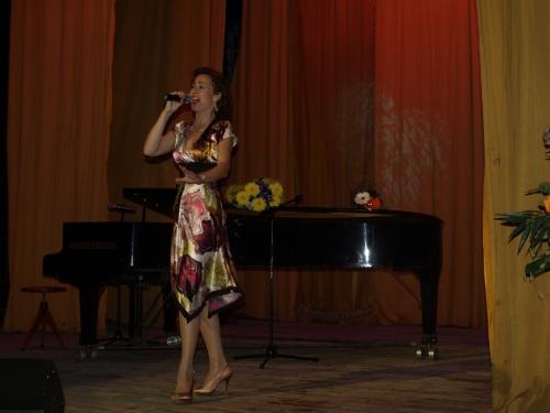 На сольном концерте в культурном центре МВД 17.11.2011